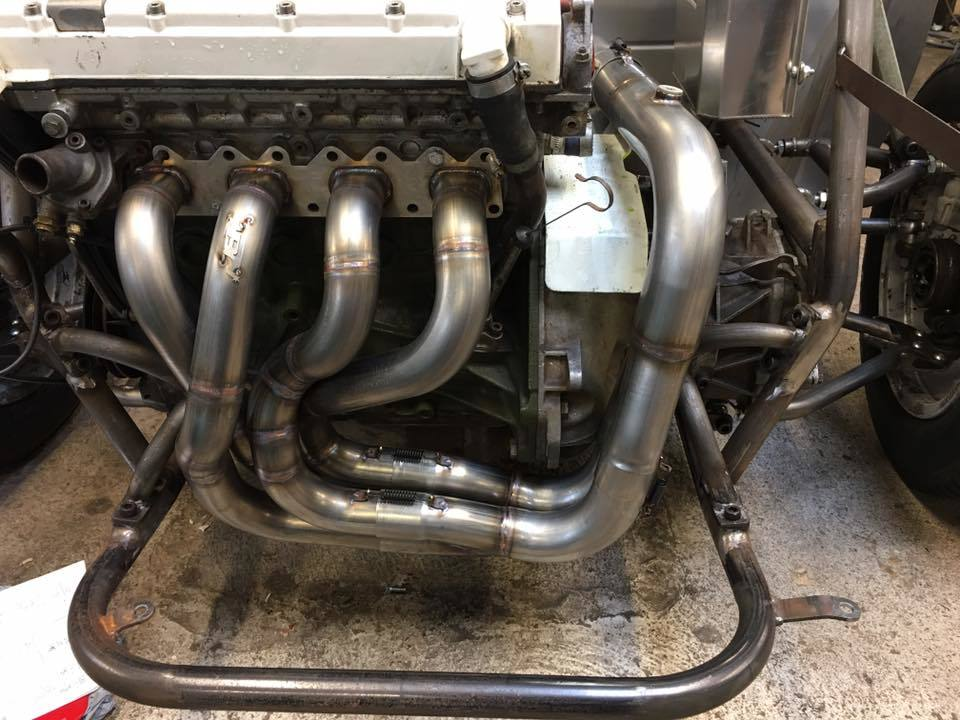 Class 6 autograss exhaust system